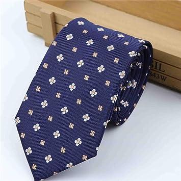 XJIUER corbata Corbata Formal de tamaño estándar Novio Caballeros ...