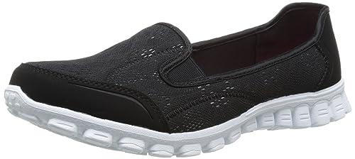 Skechers Easy Flex 2 - Bailarinas para Mujer: Amazon.es: Zapatos y complementos