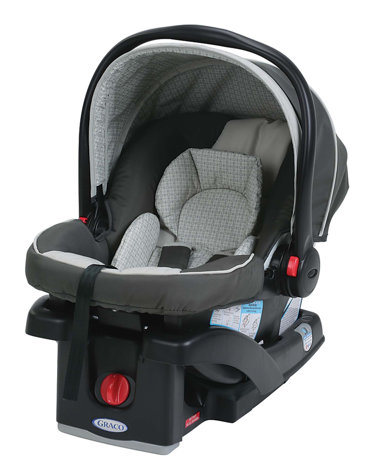 Graco SnugRide 30 LX Click Connect Infant Car Seat, Glacier