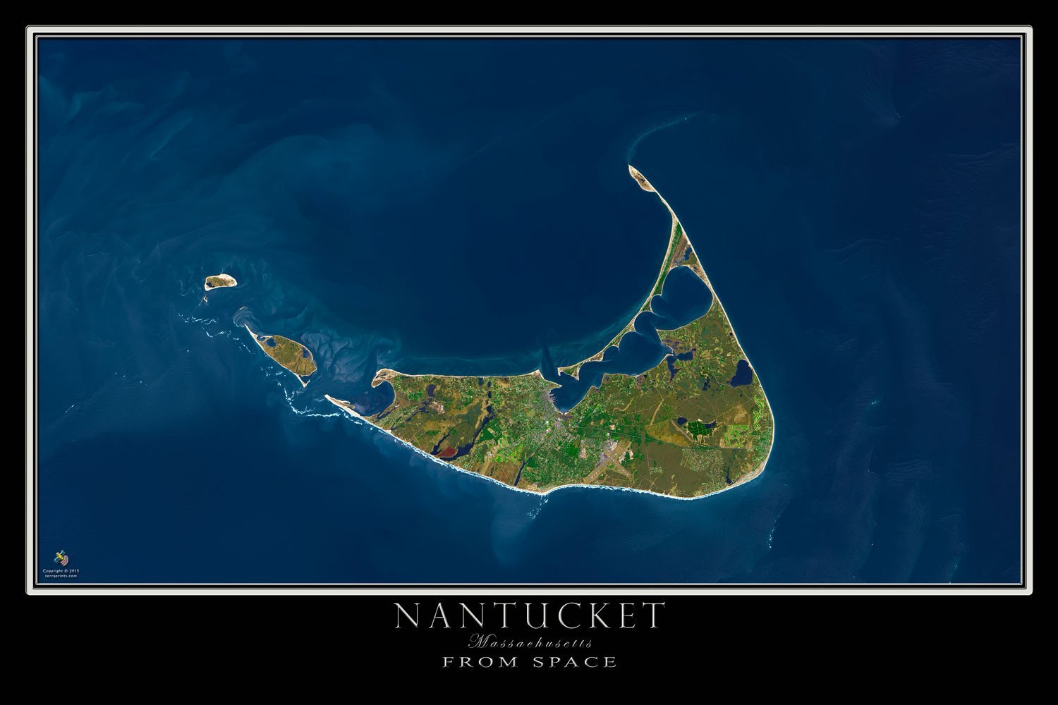 Amazon.com: Nantucket Machusetts Satellite Poster Map L ... on map of ships at sea, map of planes, map of towers, map of astronomy, map of nukes, map of media, map of servers, map of data, map of meteorites, map of aviation, map of physical, map of black holes, map of sun, map of environment, map of solar, map of maps, map of the electrical grid, map of sensors, map of electronics, map of cell phones,