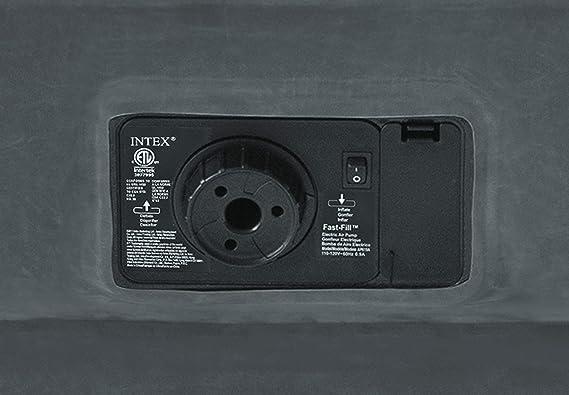 Intex 64412 - Colchón Hinchable Fibertech Comfort Plush