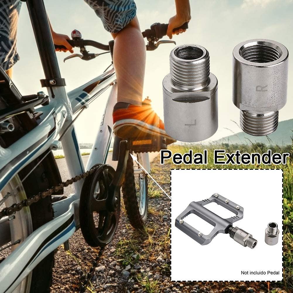 Bike Pedals Spacer Extenders 20mm Adapters for SPD MT MTB Road Street Bicycle