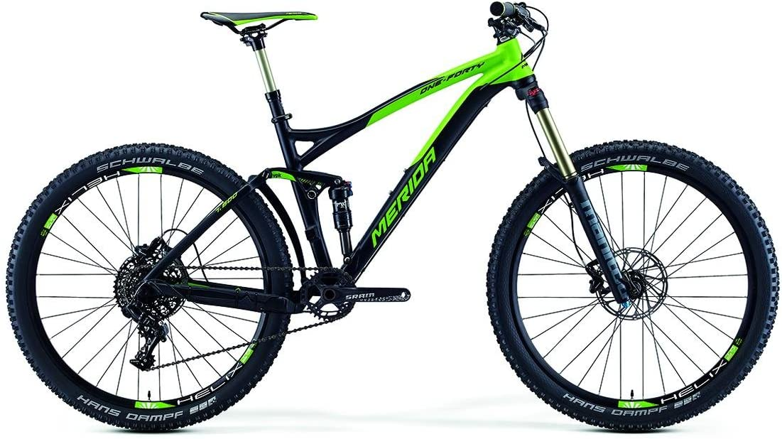 Merida One de Forty 7.600 Mountain Bike Negro/Verde (2016), tamaño ...