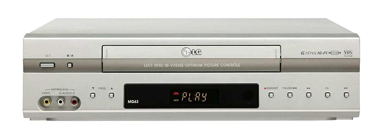 LG MG 63 Magné toscope VHS Magnétoscope