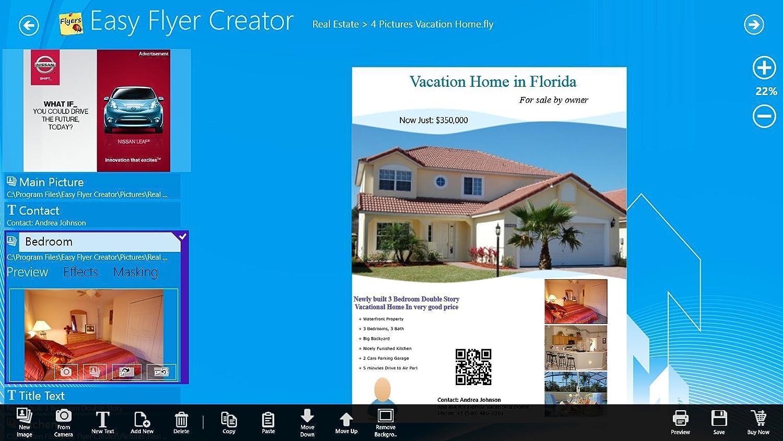 Amazon Easy Flyer Creator 20 Design Flyers Business Flyer – Advertisement Flyer Maker