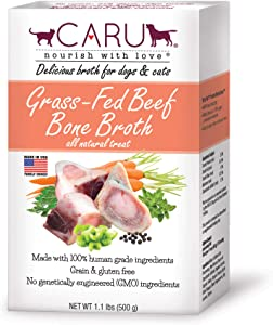 Caru - Grass-Fed Beef Bone Broth for Dogs & Cats - 1 case (6 units)