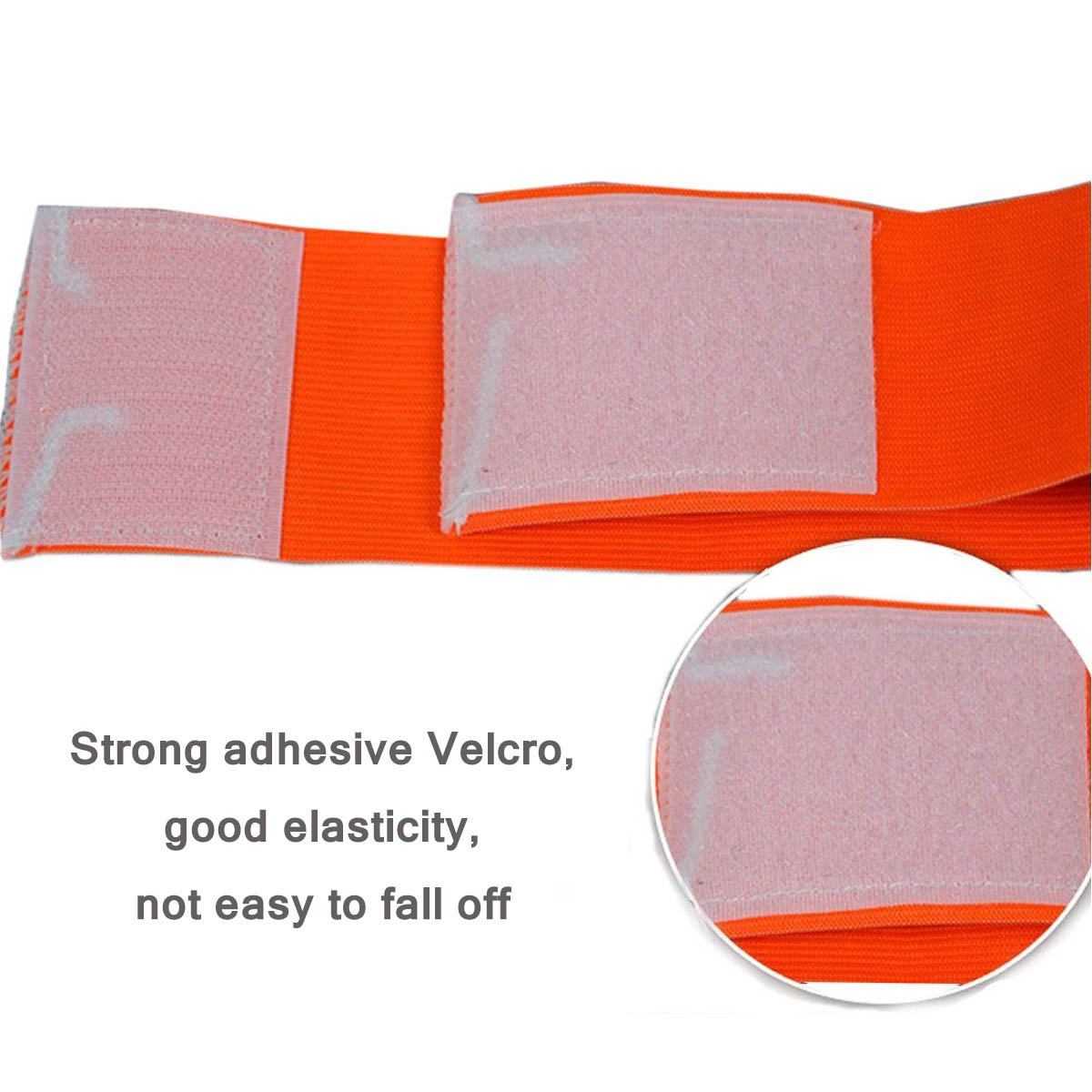 cjixnji Captain Armband Footbal For Kids Soccer Captains Armbands Junior,Standard Elasticated Velcro For Adjustable Size,Suitable For Multiple Sports Including Football /& Rugby