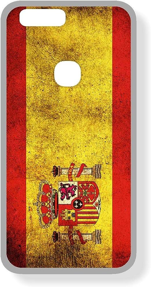 SUPER STICKER Xiaomi Mi MAX 2 - Funda Carcasa Gel Flexible, con Dibujo Original, Ref: Bandera Espana: Amazon.es: Electrónica