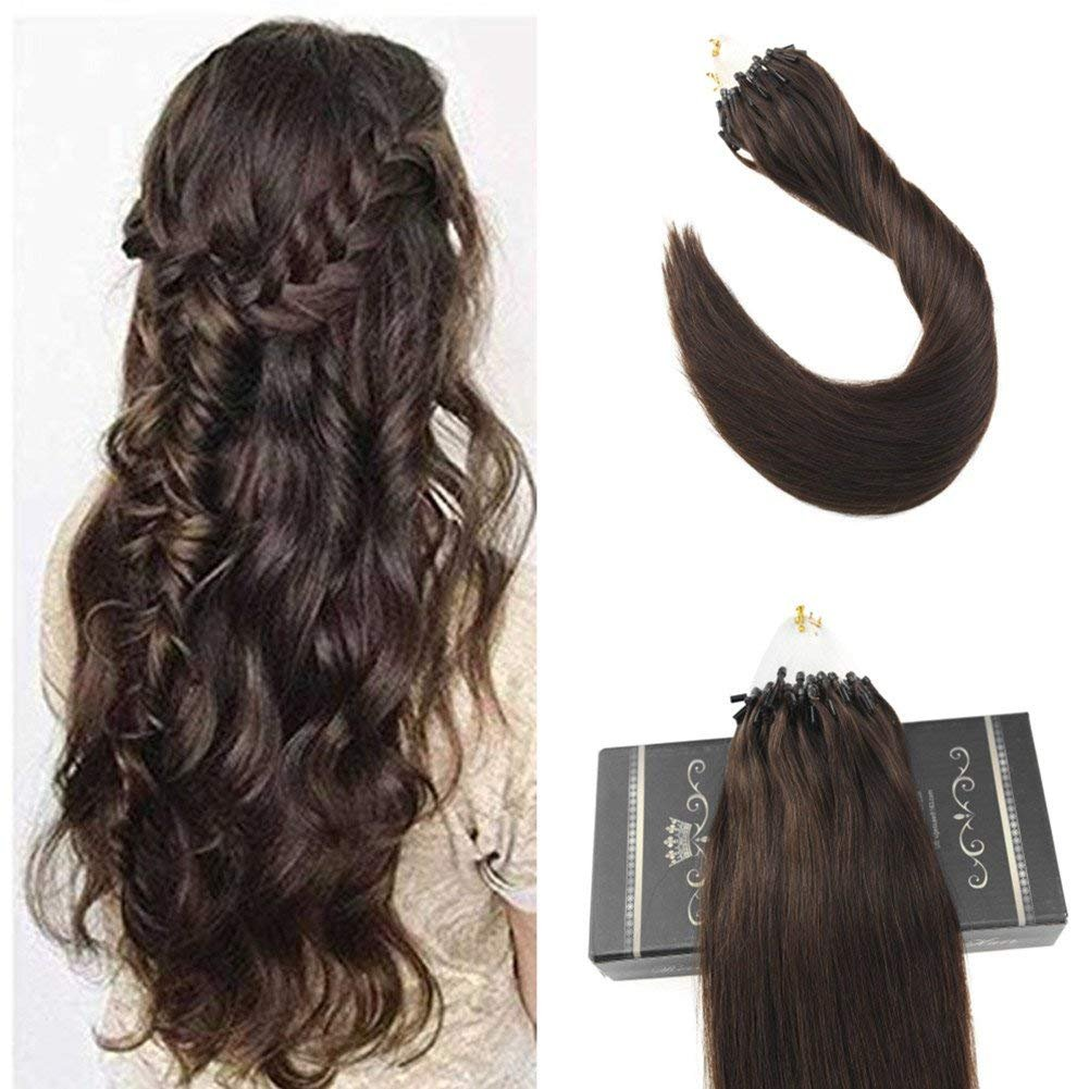 Amazon Ugeat 16inch 50s 1gs Micro Loop Human Hair Extensions