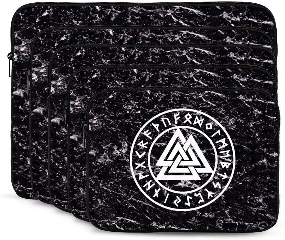 Laptop Sleeve Valknut The Symbol of Odin/ Tablet Bag 10 Inch 12 Inch 13 Inch 15 Inch 17 Inch
