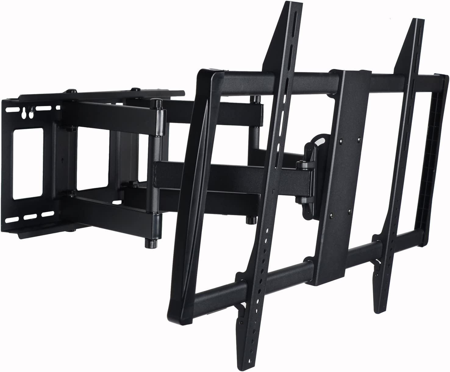 "VideoSecu Articulating TV Mount Large Big Heavy Duty Swivel Tilt Wall Mount Bracket for Most 60"" 62"" 65"" 70"" 75"" 78"" 80"", Some Models up to 85"" 90"" LED LCD Plasma TV- Dual Arm pulls Out up to 25"" 1YE"