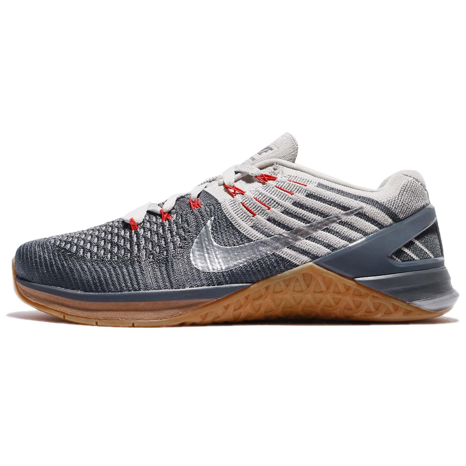 purchase cheap 9923e d5c77 Galleon - NIKE Metcon DSX Flyknit 852930-012 Dark Grey Stucco Silver Men s  Training Shoes (7)