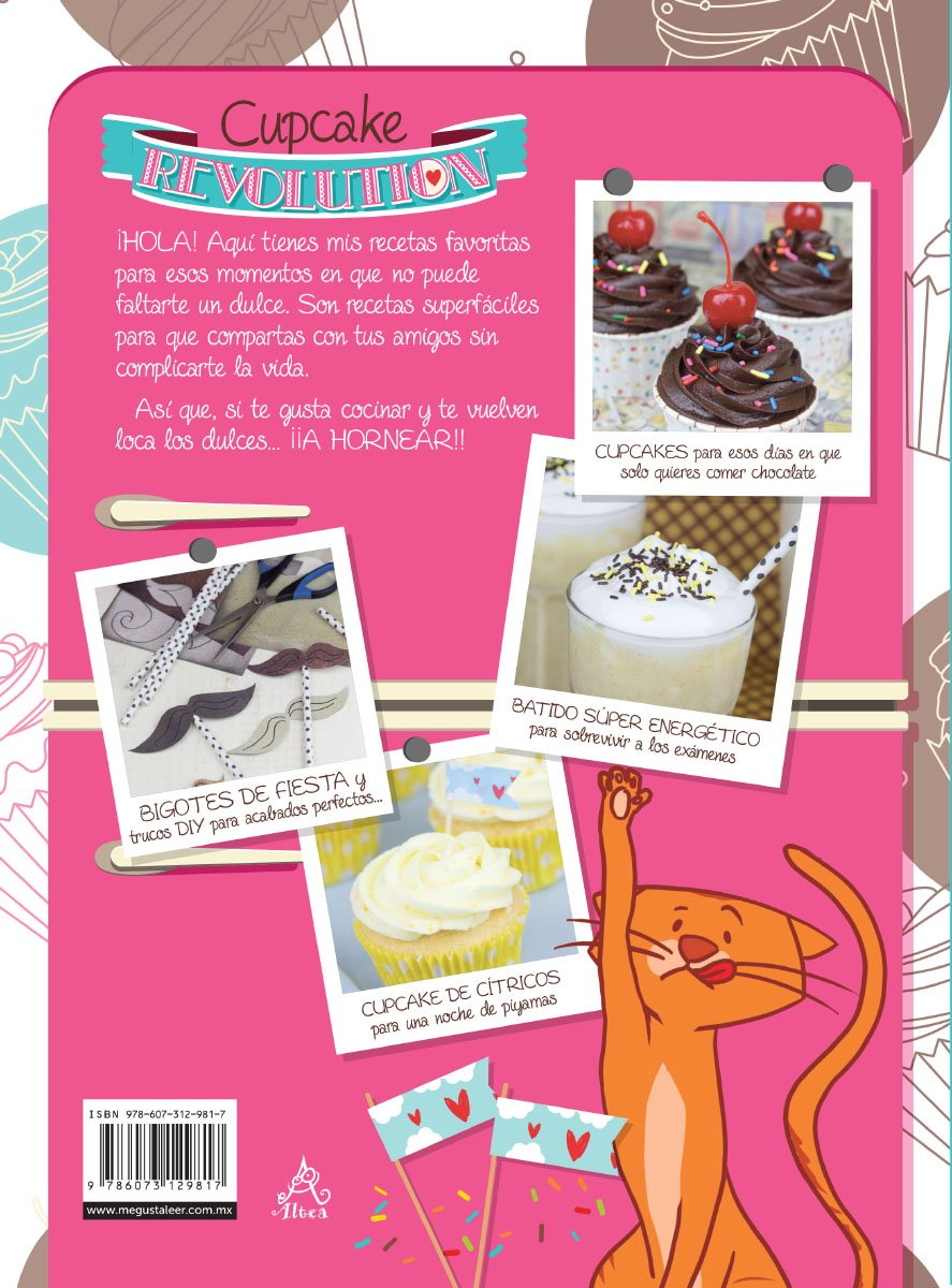 Amazon.com: Cupcake Revolution (Spanish Edition) (9786073129817): Alma Obregon: Books