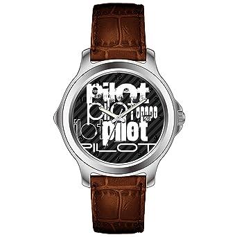 Amazon.com: TXMY Unique Pattern Watches Fashion Leather ...