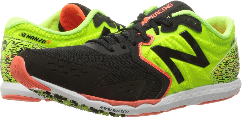 Zapato de running Hanzo para hombre, lima / negro, 11.5 D US: New Balance: Amazon.es: Zapatos y complementos