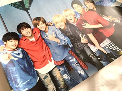 ジャニーズWEST LIVE TOUR 2017 なうぇすと 公式グッズ ポスター【集合】