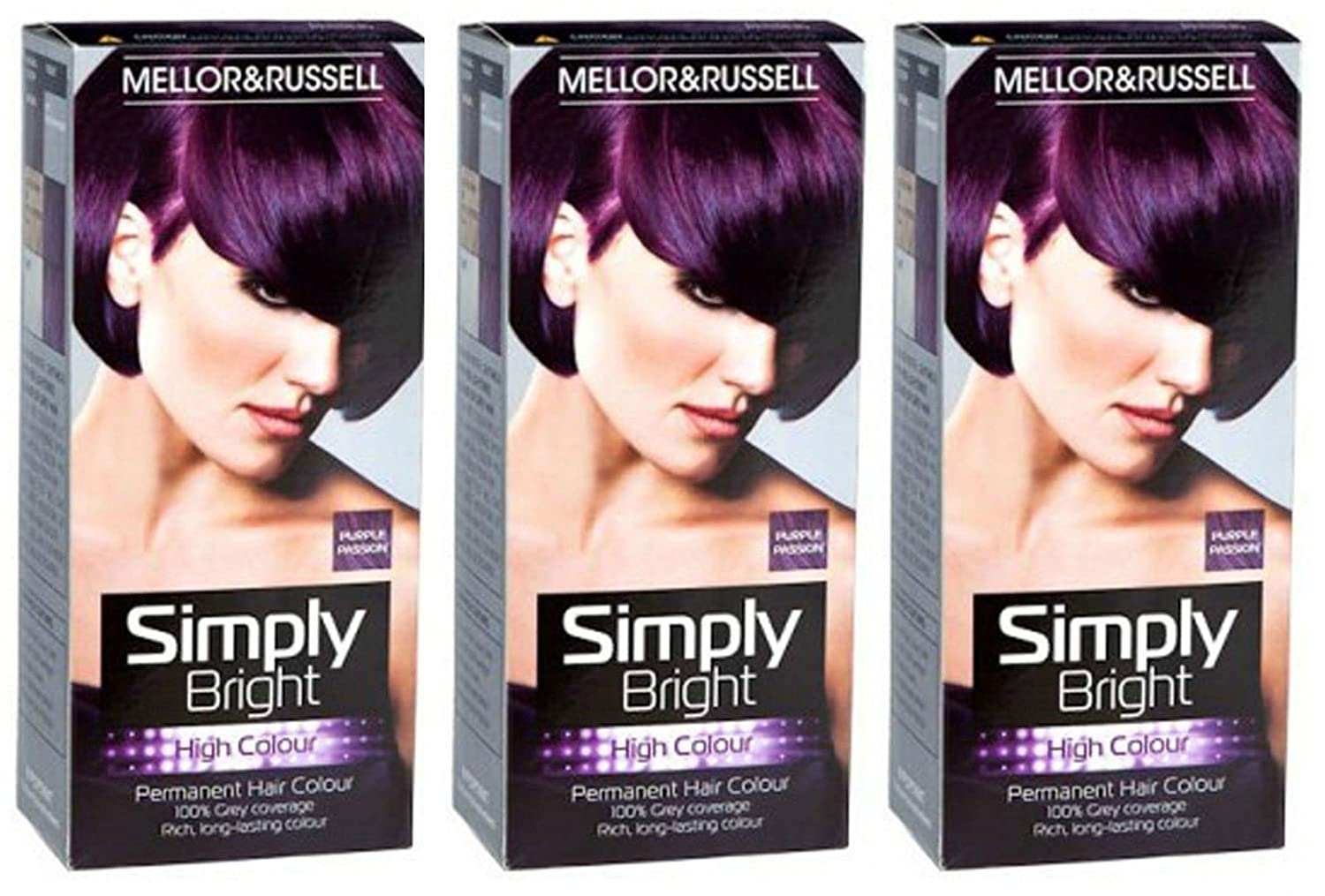 Mellor Russell Simply Bright Hair Colour Purple Passion