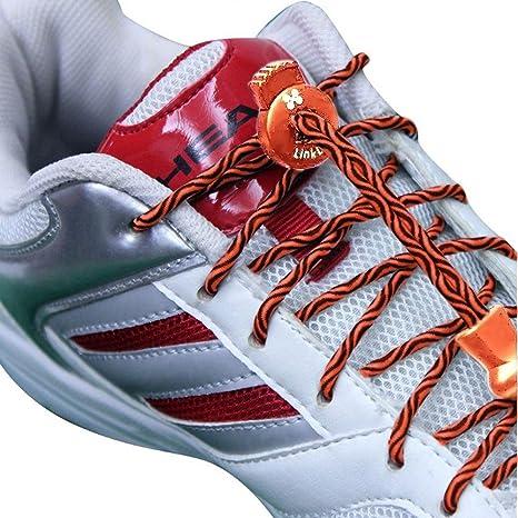 Enlace cordones cordones elásticos para zapatos (– No Tie ...