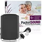 MEDca Sound Amplifier - Pocket Sound Voice Enhancer Device with Duo Mic/Ear Plus Extra Headphone and Microphone Set, Personal Hearing Amplifier Device