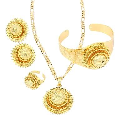 Amazoncom Gold Plated Eritrea Africa Habesha Jewelry For