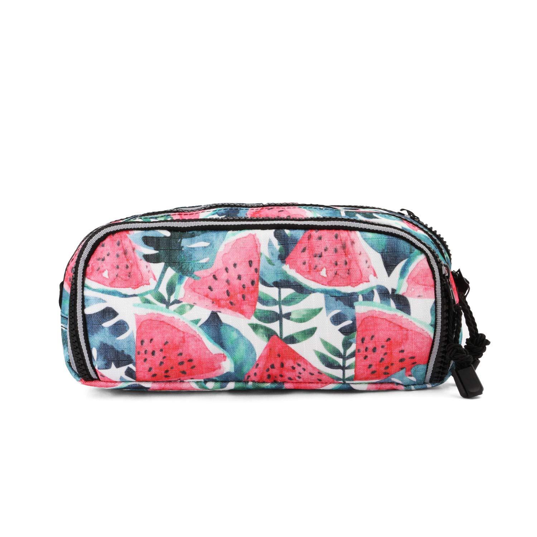 Red 22 cm Watermelon-Note Pencil Case Trousses Rouge Oh My Pop Pop