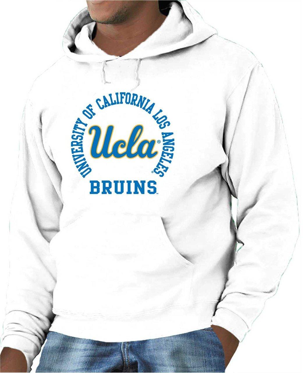 Gray Campus Colors Michigan Wolverines Adult NCAA Team Spirit Hooded Sweatshirt