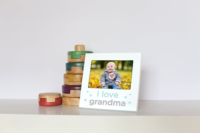 Tiny Ideas Babys First Birthday Milestone Baby Belly Sticker And Keepsake Photo Frame Gift Set