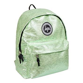b60e9802b215 Hype Slime Foil Green Backpack Rucksack Bag - Ideal School Bags - Rucksack  For Boys and