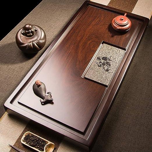 Mesa de té El Sistema De Té,con Juego De Té De Bambú Tabla Y Pequeñas