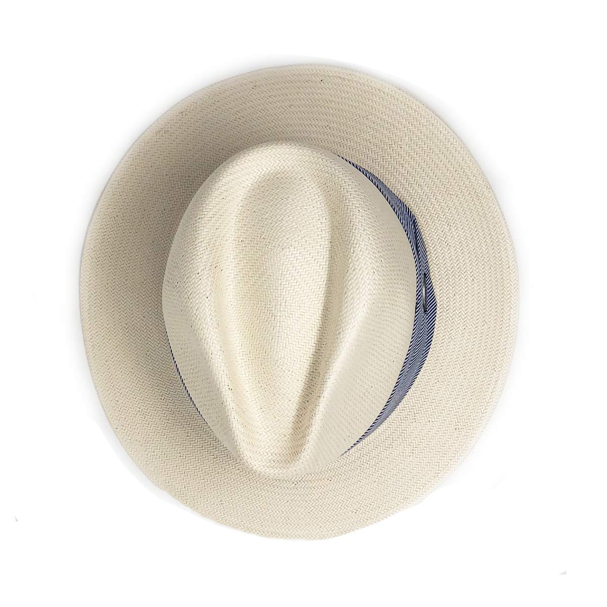 Wallaroo Hat Company Women's Monterey Fedora - Natural - Elegant Fedora, Modern Style by Wallaroo Hat Company (Image #3)