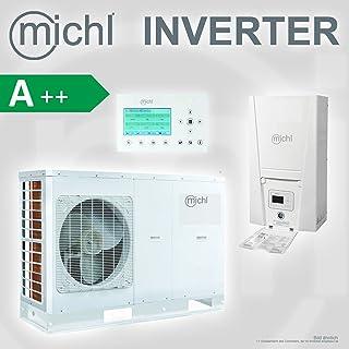 Michl Inverter de aire y agua Bomba de calor Split 10KW MPI de SP10at