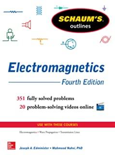 Engineering electromagnetics nathan ida 9783319078052 amazon schaums outline of electromagnetics 4th edition schaums outlines fandeluxe Image collections
