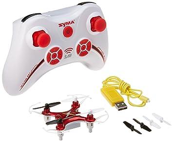 Successory® De Syma X12 Nano 6-Axis Gyro 4CH RC Quadcopter- rojo ...