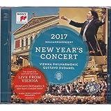 进口CD:2017年维也纳新年音乐会/古斯塔夫.杜达梅尔 NEW YEAR'S CONCERT 2017/Gustavo Dudamel(2CD)88985376152
