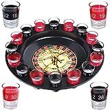 S/O® Trinkspiel Roulette incl. Geschenkverpackung Party Spiel Saufspiel für Erwachsene