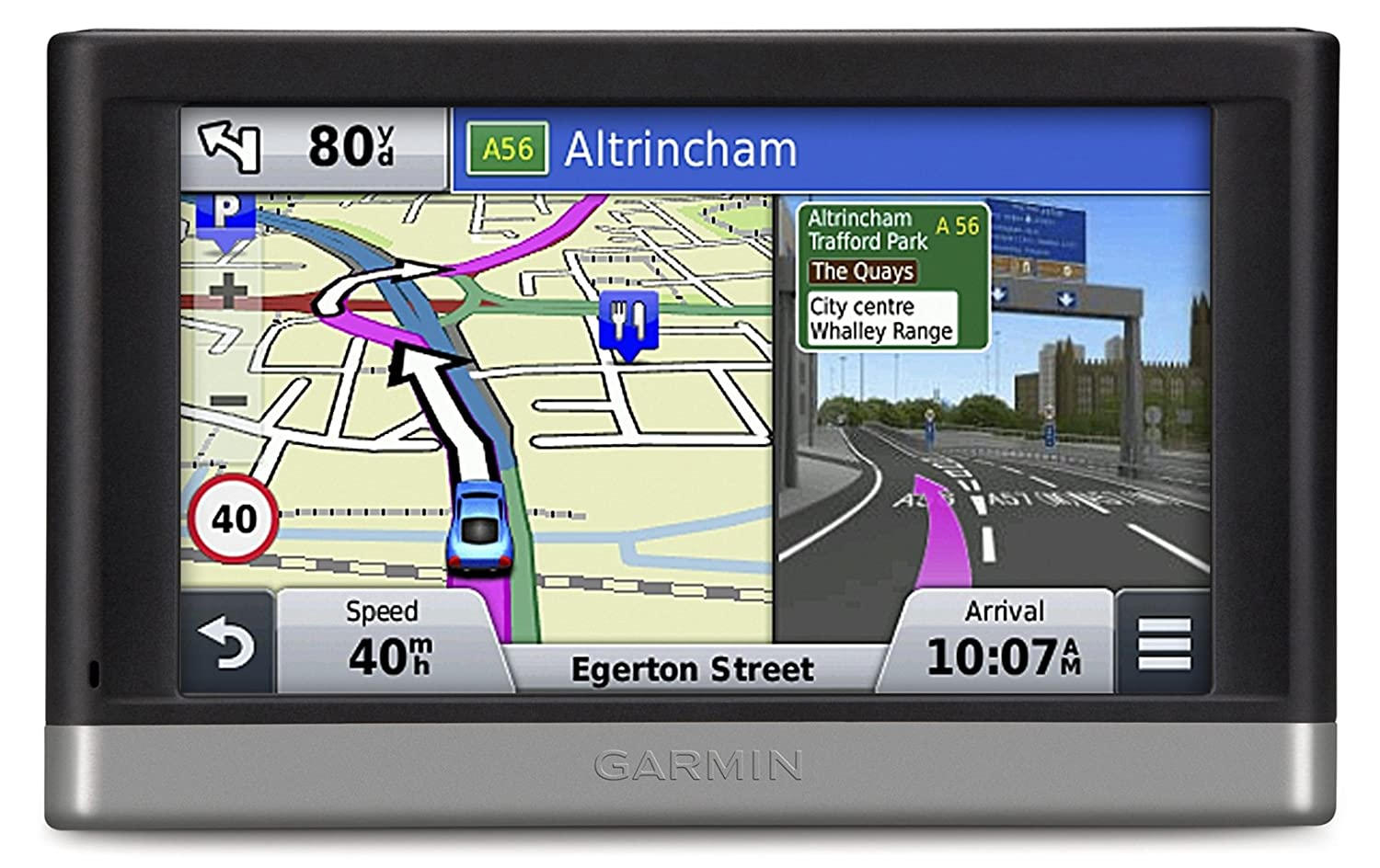 Garmin Nuvi 2598LMT-D 5 inch Satellite Navigation with UK and Full Europe Maps, Free Lifetime Map Updates, Free Lifetime Digital Traffic Alerts and Bluetooth 010-01123-35