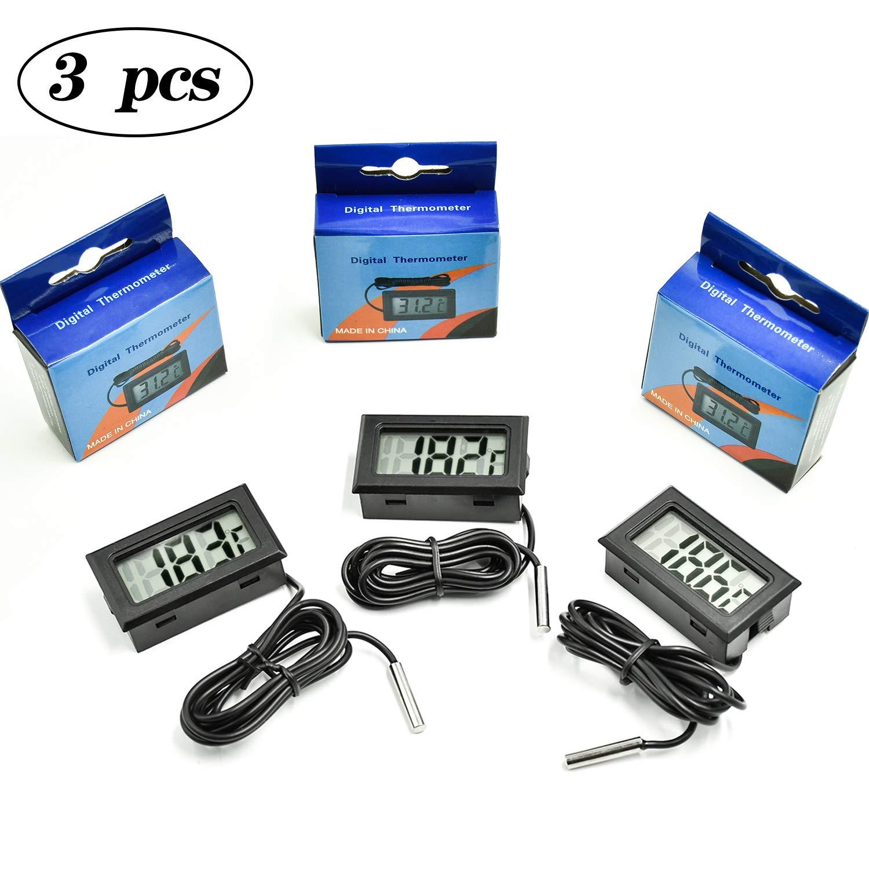 COCOCITY Termometro Digital Acuario para Refrigerador Frigorífico ...