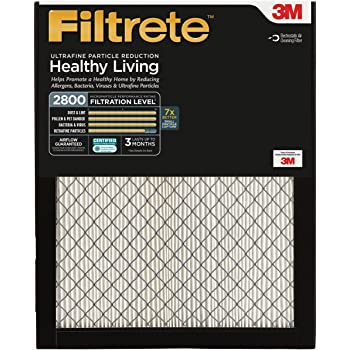 Filtrete MPR 2800 16 x 20 x 1 Ultrafine Particle Reduction HVAC Air Filter, Captures Fine Inhalable Particles like Bacteria & Viruses, 2-Pack