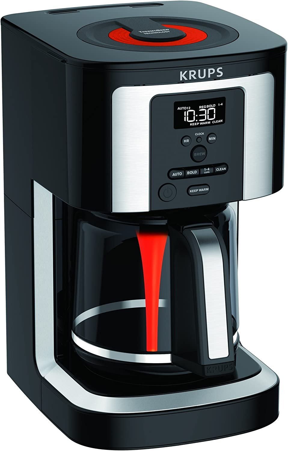 10. KRUPS EC 322, best up-to-date least expensive coffee maker