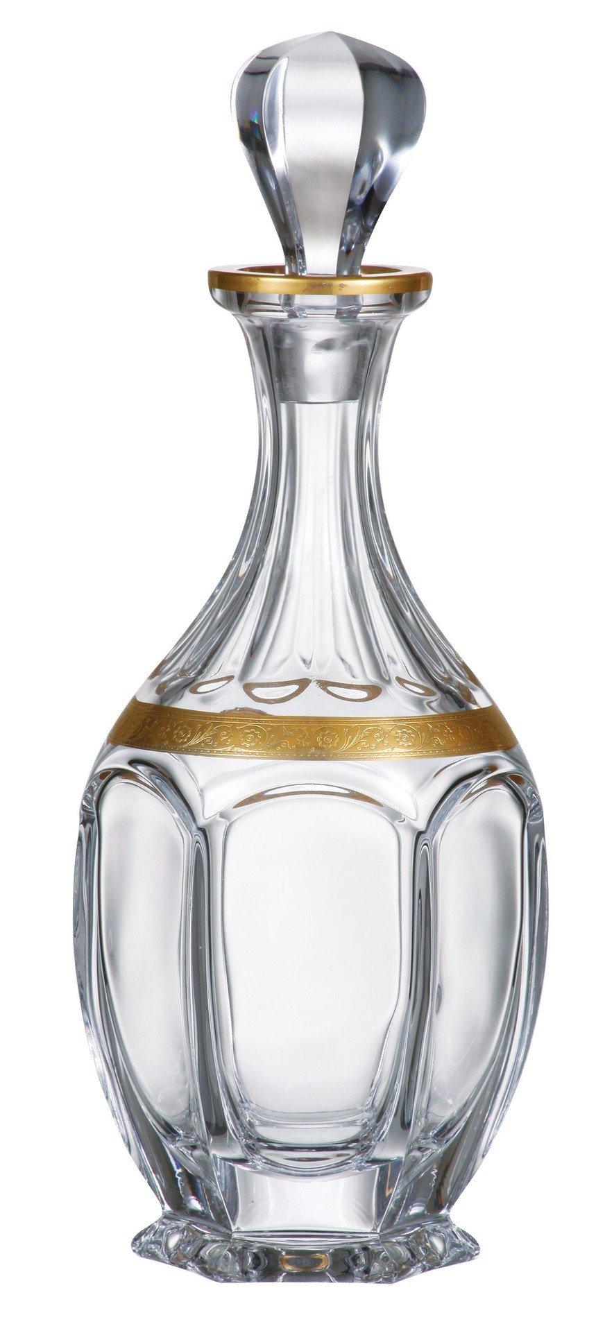 Bohemia Crystal - Safari Gold Decanter 27 oz.