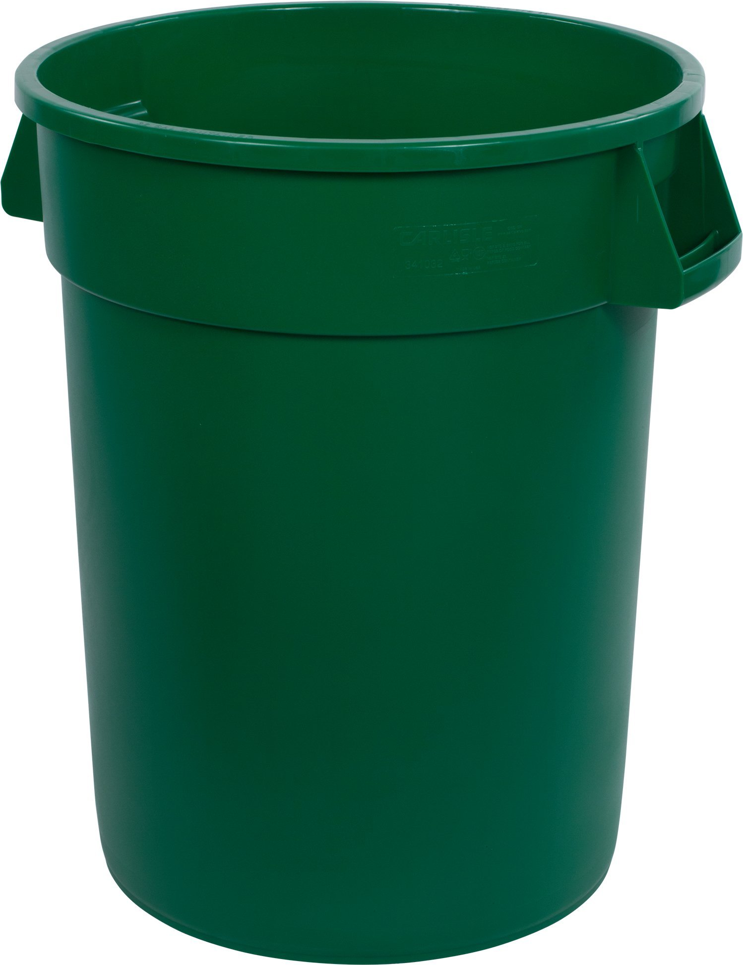 Carlisle 34103209 Bronco Round Waste Container Only, 32 Gallon, Green