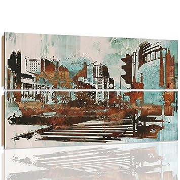 feeby Frames, cuadro pared - 2 partes - forma rectangular ...