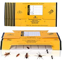 48 Pack Roach Traps Cockroach Killer Indoor Home Glue Traps for Roaches Bugs Spiders Crickets Beetles
