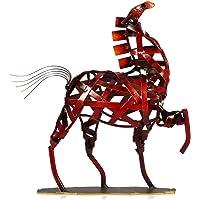 tooarts–Scultura met ¨ ¢ lica Realizzato a mano–Cavallo–Apparecchi di ferro decorativo per la decoraci ¨ ® n del hogar (Obra de Artesan ¨ ªa)?