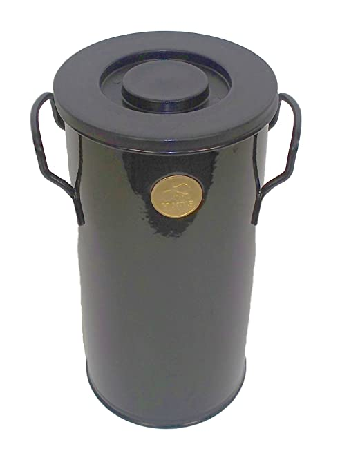 Bosmere Haws 1 Gallon Kitchen Compost Caddy, Black