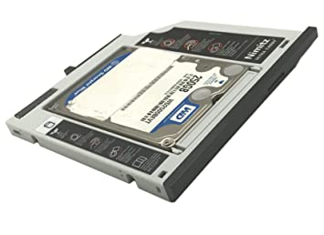 ULTRACADDY 2ª HDD SSD Disco Duro Caddy para Lenovo Thinkpad T400 ...