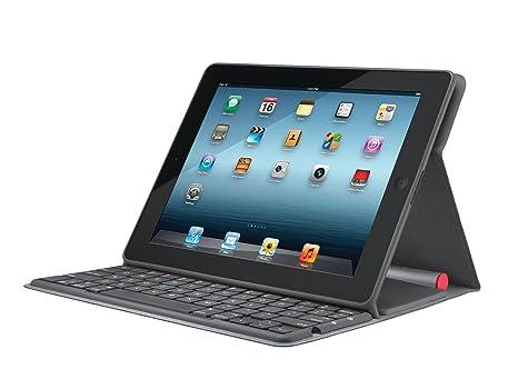 Logitech Solar Keyboard Folio Bluetooth Negro teclado para móvil: Amazon.es: Electrónica