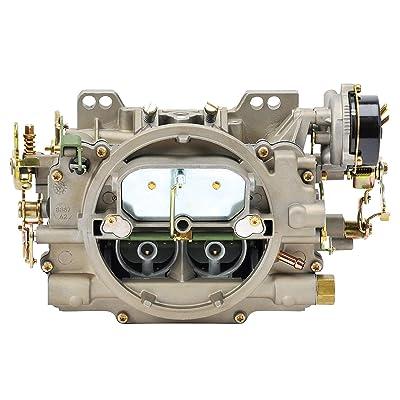 Edelbrock 1409 Performer Series Marine 600 CFM Square Bore 4-Barrel Air Valve Secondary Electric Choke New Carburetor: Automotive