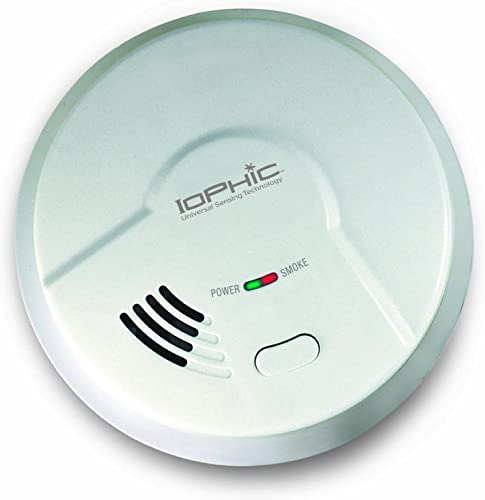 Universal Security Instruments MDS107 Smoke and Fire, classic white