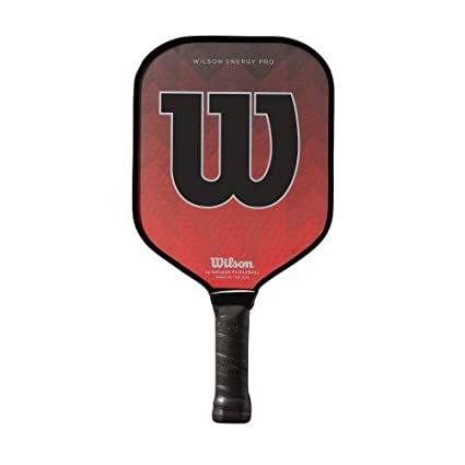 Wilson Energy Pro Pickleball Paddle, Red/Black